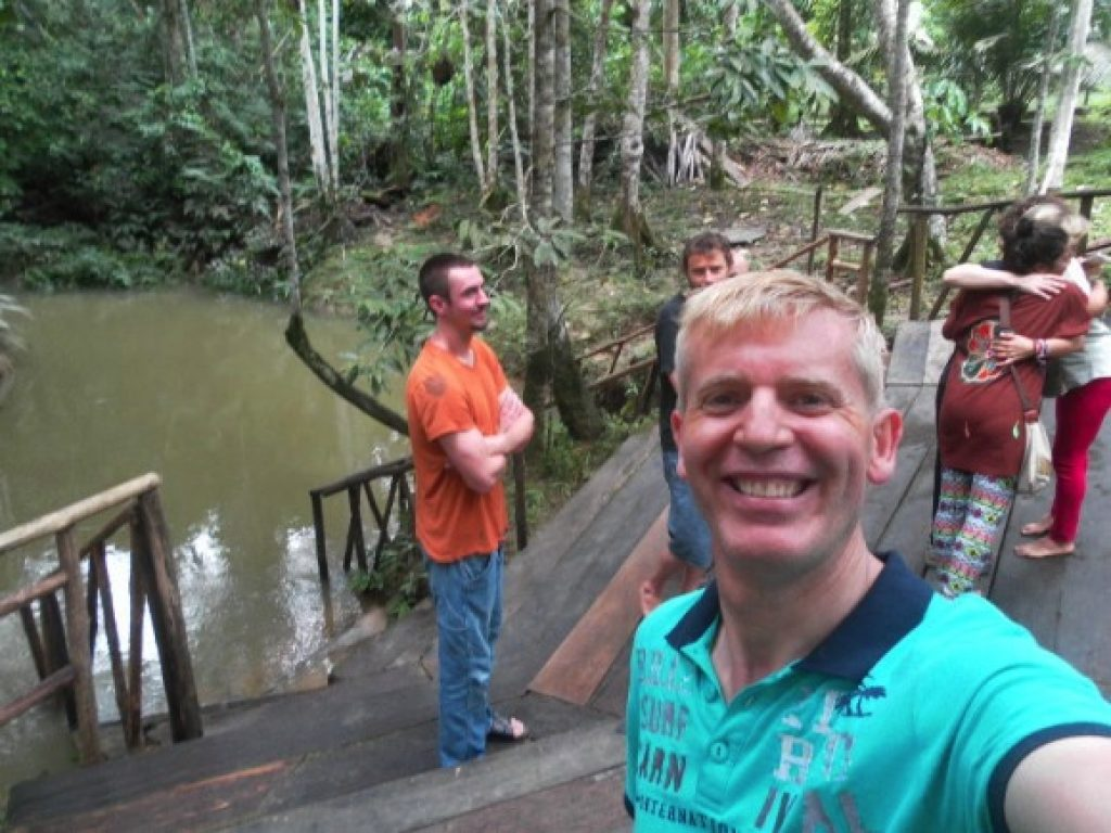 By the Amazon in Peru at the retreat