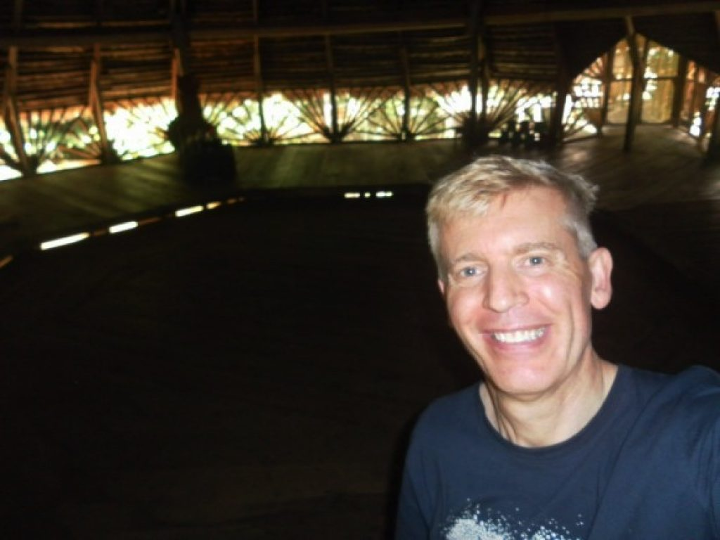 Eric in the maloca