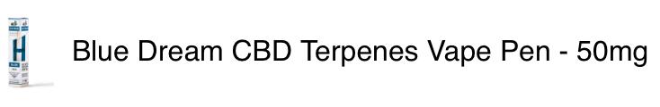 Blue Dream Terpenes Pen