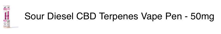 Sour Diesel Terpenes Pen