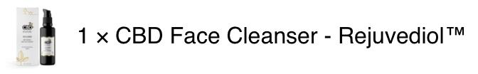 CBD Face Cleanser Rejuvediol