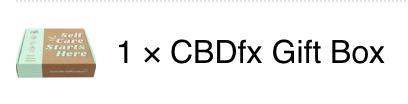 CBDFx Gift Box