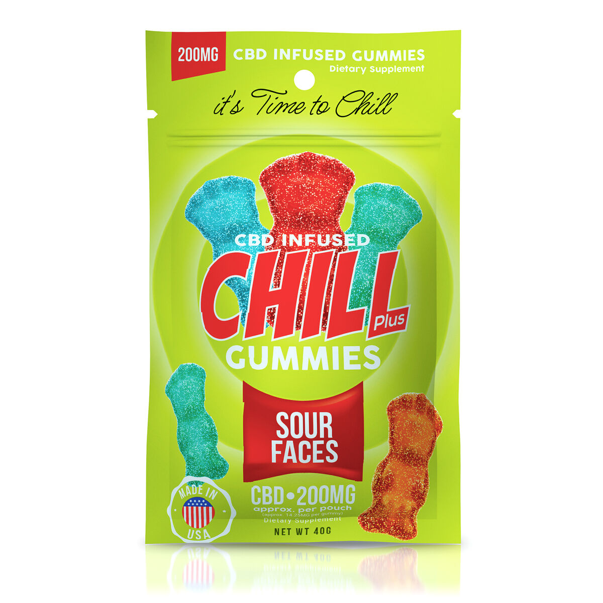 chill-plus-gummies-cbd-infused-sour-faces-200mg