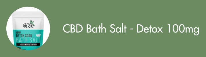 CBD Bath Salt Detox 100mg