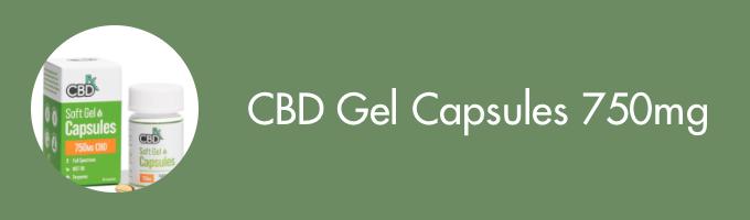 CBD Gel caps 750ml